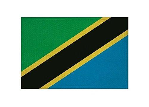 U24 Aufnäher Tansania Fahne Flagge Aufbügler Patch 9 x 6 cm