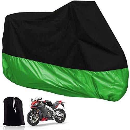 YIHGJJYP 210D Prueba de Agua al Aire Libre de la Motocicleta