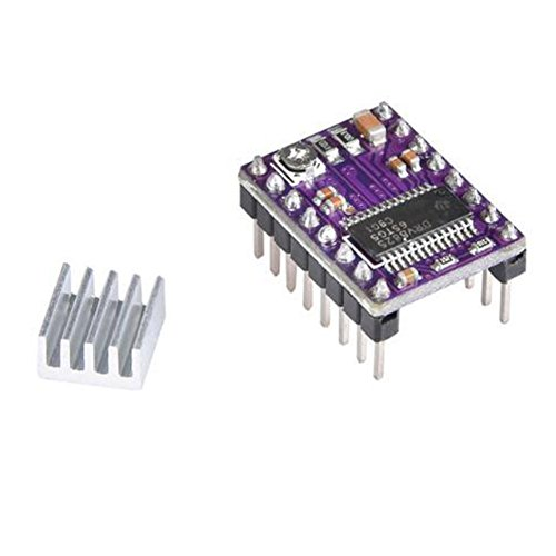 SSSabsir 5 Pcs DRV8825 Stepper Motor Driver Module for 3D Printer