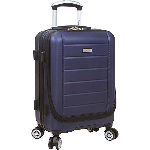 Dejuno Compact Hardside 20-inch Carry-on Luggage with...