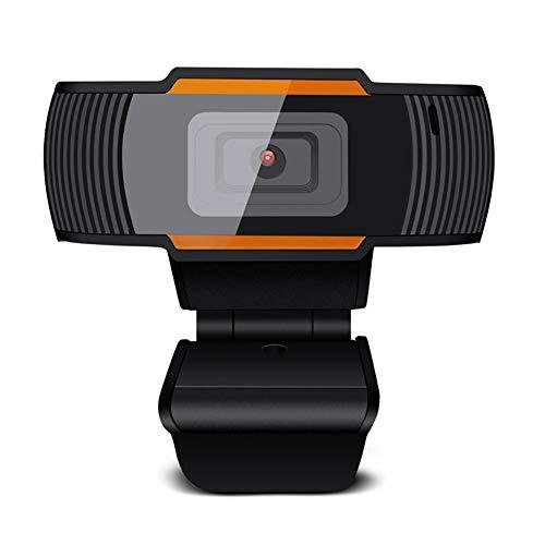 Kaper Go Webcam, 1080p Full HD con micrófono estéreo, Adecuado para transmisión de Medios, Conferencia, transmisión en Vivo, videollamada de cámara USB (Size : 480p)