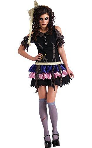 Rubie's Offizielles Damen-Halloween-KostümZombie-Puppe, Standardgröße