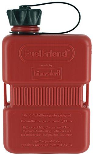FuelFriend®-Plus 1,0 Liter - Klein-Benzinkanister Mini-Reservekanister