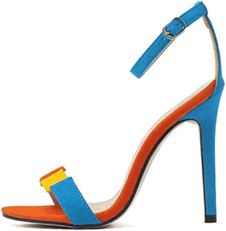 Women's Sexy High Heels, color Women's Ankle Strap High Heel Open Toe Sandal Pump Formal Party Dress Heel,38