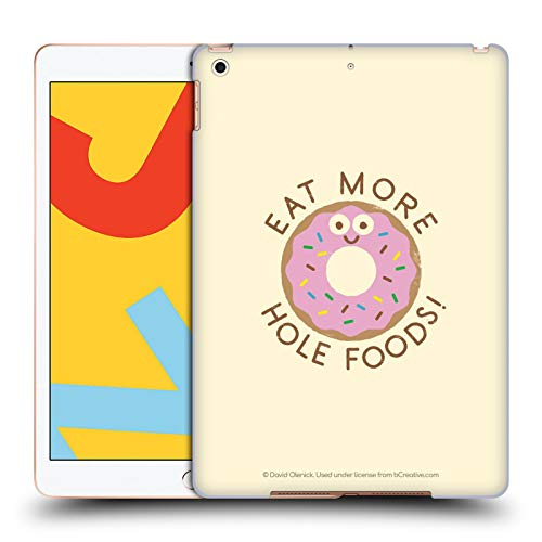 Official David Olenick Dos And Donuts Sweet Treats Hard Back Case Compatible for iPad 10.2 (2019)