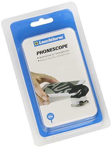 Macro lens PHONESCOPE with 60-fold magnification, for Smartphones