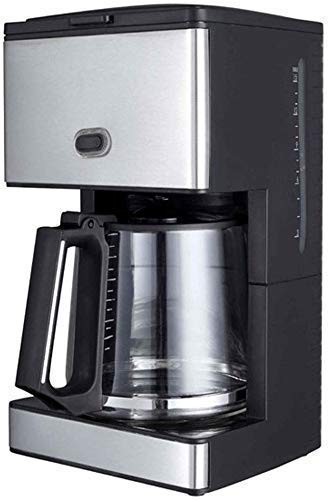 Cafeteras 15 Copa cafetera eléctrica Cafeteras térmica instantánea goteo Maquina de cafe de café molido con la garrafa de cristal Negro espressos Haike WTZ012