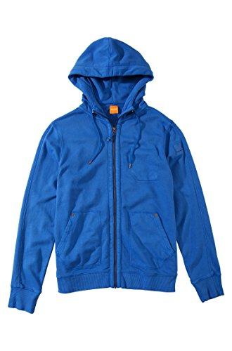 Boss Sweat Ztylo Orange 421 Medium Blue - Bleu - S