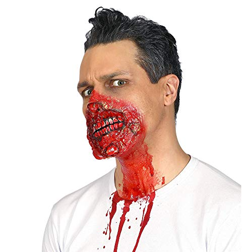Widmann 01003 ? Zombie Bouche avec Bande de Caoutchouc de qualité Professionnelle pour Adultes