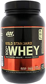 Gold Standard 100% ホエイ チョコレートヘーゼルナッツ 907g (2lb) [並行輸入品]