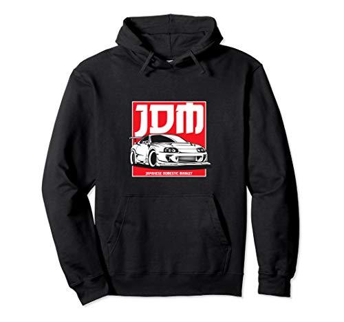 2JZ JDM Car Meet Tuning Automotive Sticker Drifting Gift Pullover Hoodie