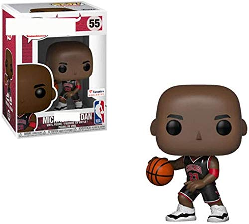 WSWJ NBA: Chicago Bulls de Michael Jordan - Vinilo de Colección Figura 10cm