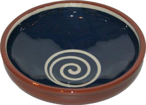 Amazing Cookware Bol Spirale 17 cm, Bleu/crème