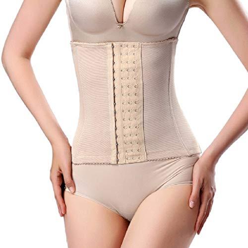Aiserkly Corsé cuerpo construcción y corsés que moldea la ropa suave más tamaño control de barriga mujeres cuerpo formando cintura atada regalos transpirables