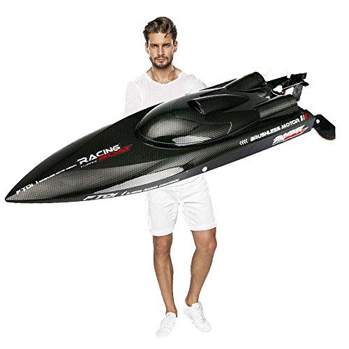 Feilun FT011 RC High Speed Racing Boot 55 KM / H Fernbedienung Größte Brushless Motor Ausgezeichnete Funktionen für Hobbies Player Adult