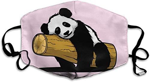 shifeiwanglu Unisex Mundmaske,Boring Cartoon Panda Pattern Mouth Masks Unisex Washable Reusable Mouth Mask Fashion Design for Girls Women Boys Men