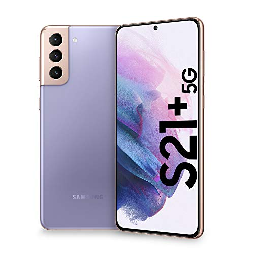 Samsung Smartphone Galaxy S21+ 5G, Caricatore incluso, Display 6.7