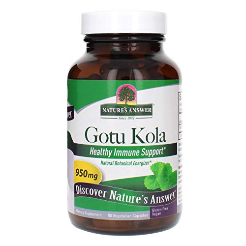 NATURE'S ANSWER - Gotu Kola Herb 950 mg - 90 Capsules