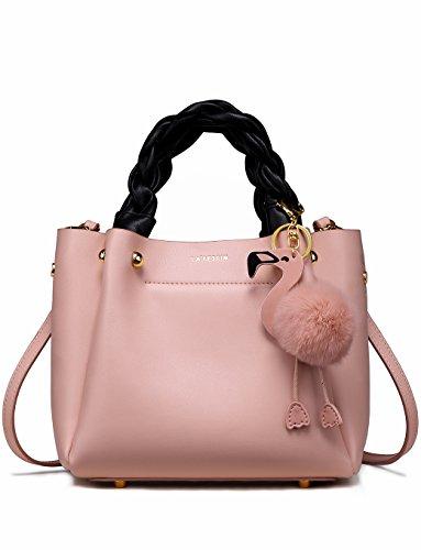 LA'FESTIN Designer Fashion Schultertasche Tasche Handtaschen aus echtem Leder, Trendy Accessorize Hobo Große Klassische Geldbörsen für Damen, Frauen, Reisen und mehr