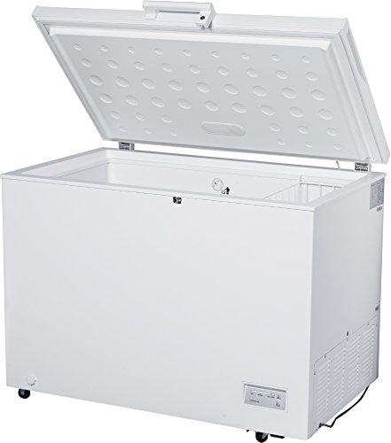 Congelatore orizzontale a libera installazione DCP-320HE 316L A+ Bianco Daya Home Appliances