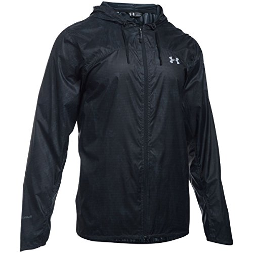 Under Armour Herren Jacke UA Leeward Windbreaker, Stealth Gray, SM, 1290517-008