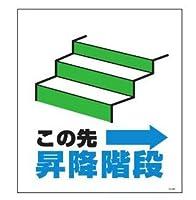 セフテック 単管たれ幕(この先→昇降階段)