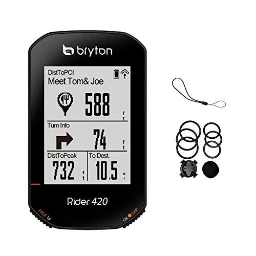 Bryton Rider 420E - computadora GPS para bicicleta (solo dispositivo)