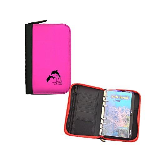 Sub-base Logbuch Travel 'Delphin' mit Starteinlage, Farbe:pink