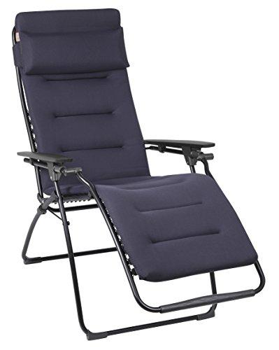 Lafuma Relax-Liegestuhl, Klappbar, Stufenlose Verstellung,...