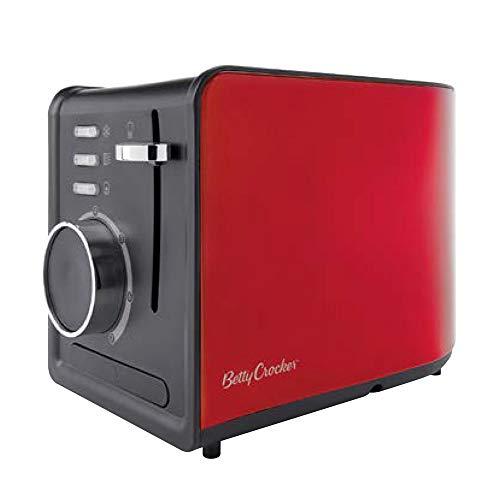 Betty Crocker WACBR603 2 Slice Toaster, One Size, Red