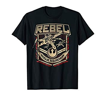 Star Wars X-Wing Rebels Rogue Squadron Badge Graphic T-Shirt