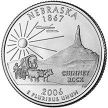 2006 D Nebraska State Quarter Choice Uncirculated