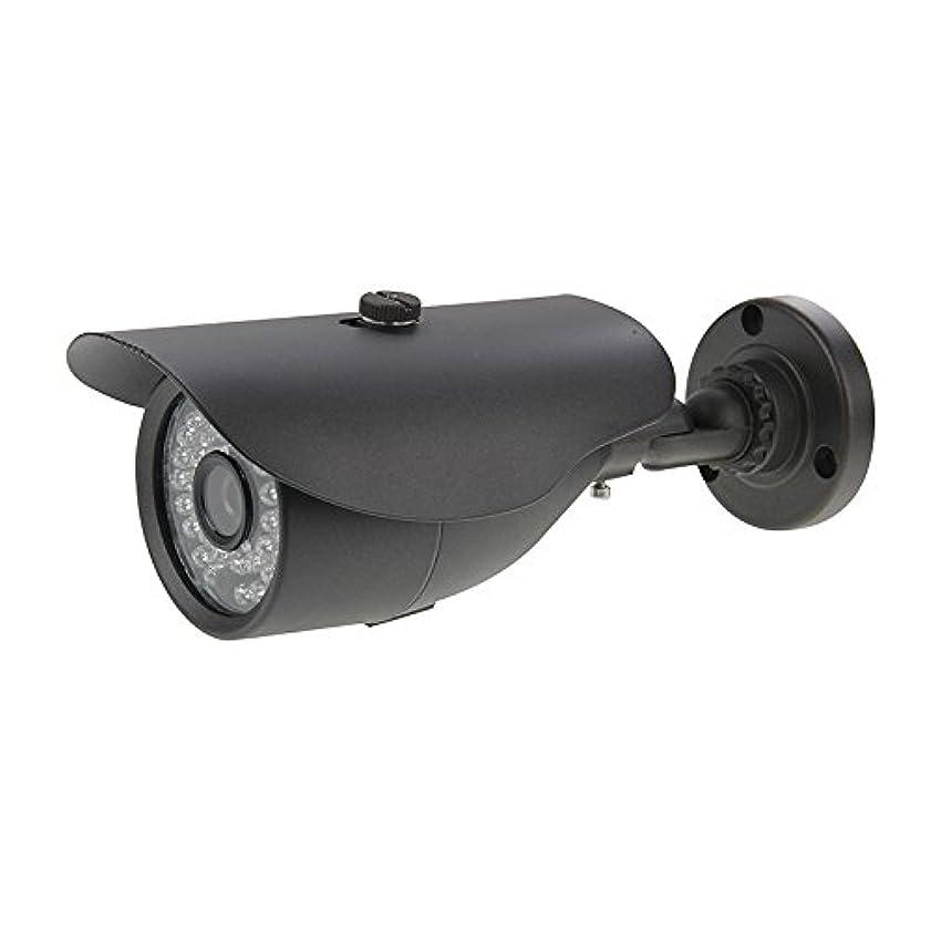 恥ずかしさ切り離すホステスYMF 480TVLソニーCCD 36LED IRセキュリティ弾丸カメラ、サポート動き検出、IR距離:25m (色 : Black)
