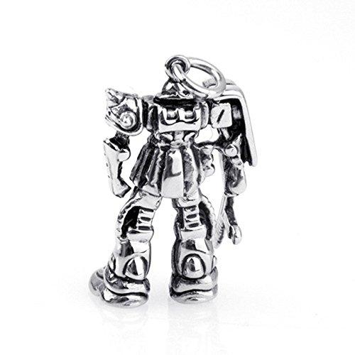 GuDeKe Hip Hop Edelstahl Halskette mit Transformers Autobot Anhänger für Männer