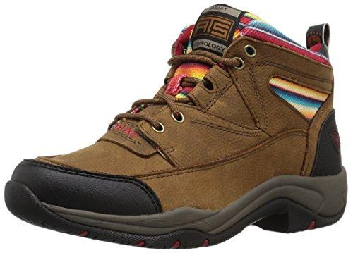 ARIAT Women's Terrain Hiking Boot, Walnut/Serape, 8.5 B US