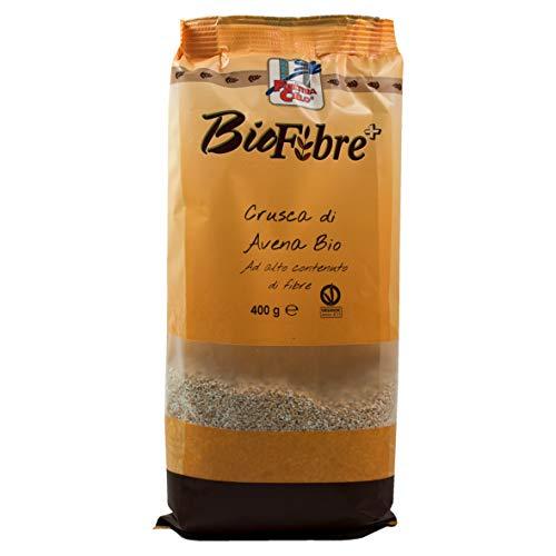 LA FINESTRA SUL CIELO Biofibre Crusca di Avena Bio - 400 gr (Confezione da 6 pezzi)