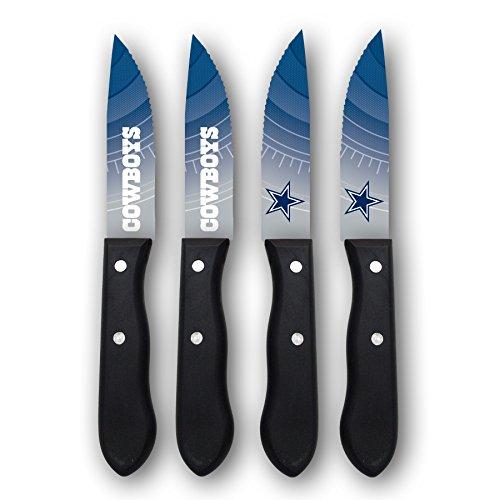 Sports Vault NFL Dallas Cowboys Steak Knive Set