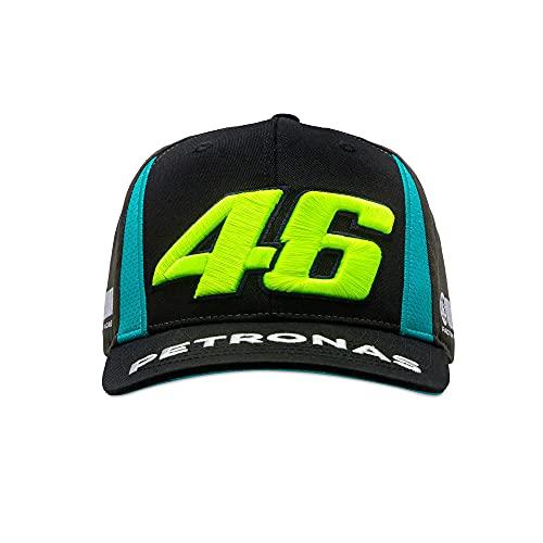 Valentino Rossi Vr46 Petronas 46 Yamaha, verstellbare Kappe, für Herren, Schwarz, Einheitsgröße