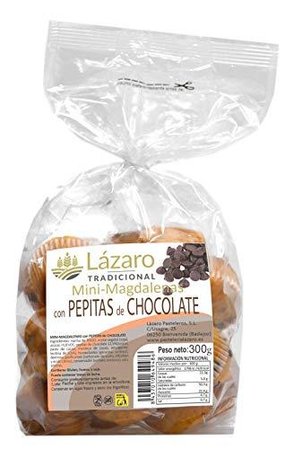 Lázaro Mini Magdalenas con Pepitas De Chocolate 300 g