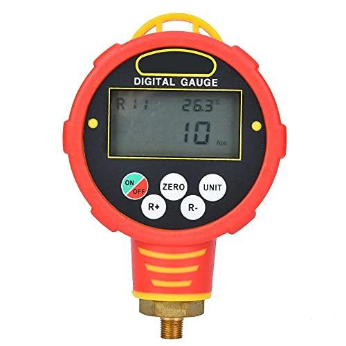 YINGGEXU Medidor de presión de 1 / 8in NPT Bajo/Alto maniombrador Digital Prueba de presión de refrigeración WK-688H / R32 100BAR / 10MPA Medidor de vacío Medidor de presión (Color : WK 688H)