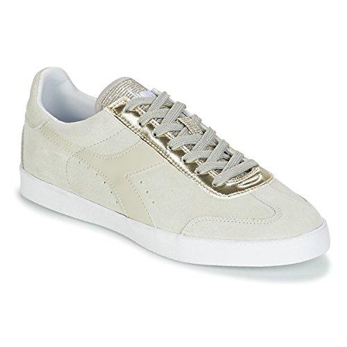 Diadora B.Original Wmn Vlz, Sneaker Donna, Rosso (Giallo Sorbetto Perla), 40.5 EU