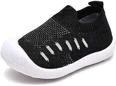 Geilisungren Pañuelo Bailarinas para Bebés Infantil Bebé Niña Niño Zapatos de Cuna de Suela Blanda Sneaker Prewalker Recién Nacido Zapatilla de Deporte Zapatos Bebé Primeros Pasos