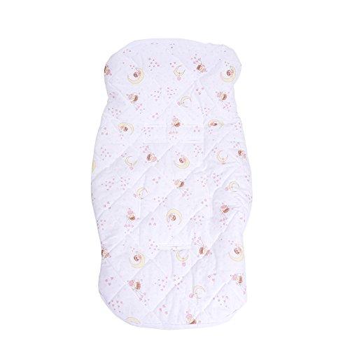 Papi Textil Capa para Bebê conforto e carrinho, 90cm x 55cm, Rosa