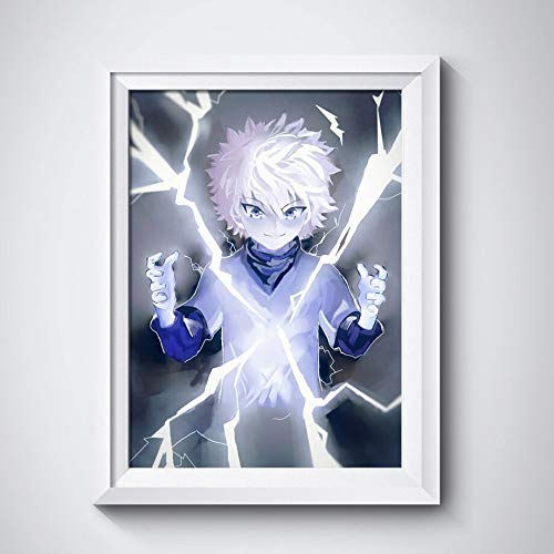 wZUN Impresión HD decoración del hogar Anime Hunter Pared Arte Lienzo Pintura Imagen Cartel 60x80 Sin Marco