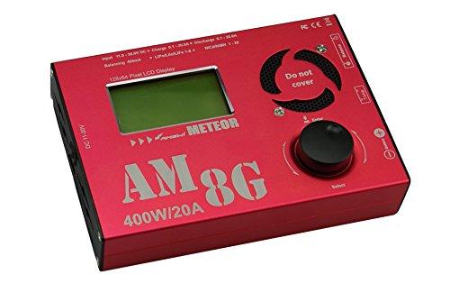 Oferta de Amewi 28106 - Cargador (Rojo, Cargador de baterías para Interior, Polímero de Litio, Ión de Litio, Níquel-cadmio (NiCd), Níquel-Metal hidruro (NiMH), 1 Pieza(s), 400 W)