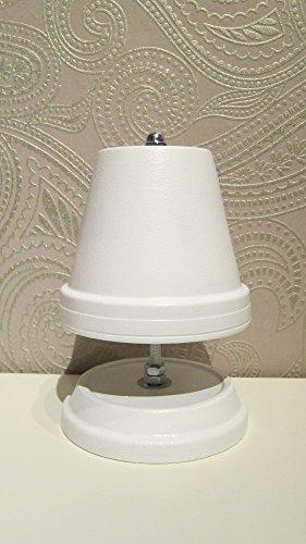 Teelichtofen Kerzenofen Teelichtheizung Höhe 23cm Durchmesser 16cm Farbe Weiß