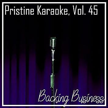 Pristine Karaoke, Vol. 45