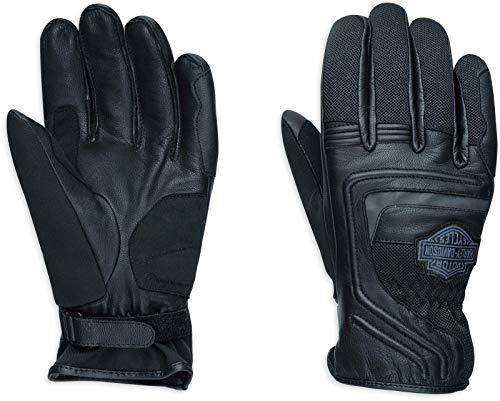 HARLEY-DAVIDSON Motorrad Herren Handschuhe aus Ziegenleder Bar & Shield EC, L