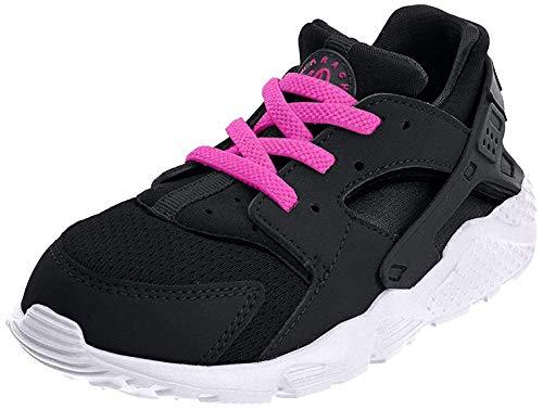 Nike Unisex Kinder Huarache Run (TD) Sneaker, Schwarz, 21 EU