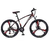 JLQWE Vélo VTT Mountain Bike, Cadre en Acier Au Carbone Hommes/Femmes Vélos Semi-Rigide,...